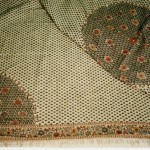An image of a shawl, photographed by researcher Nancy Rexford.